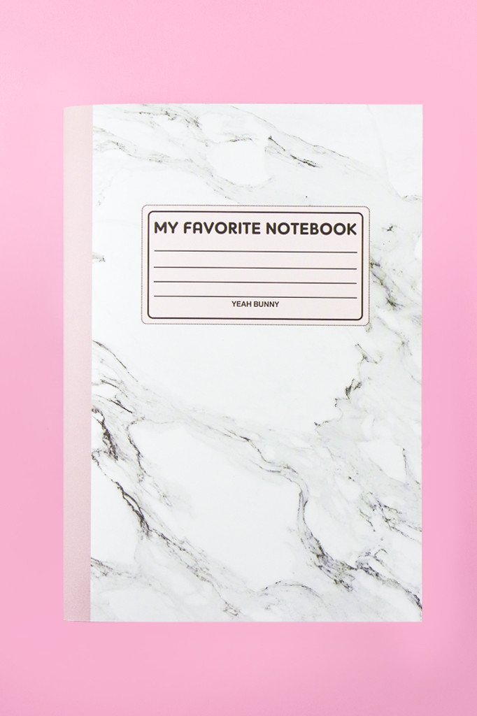 NOTEBOOK MARBLE