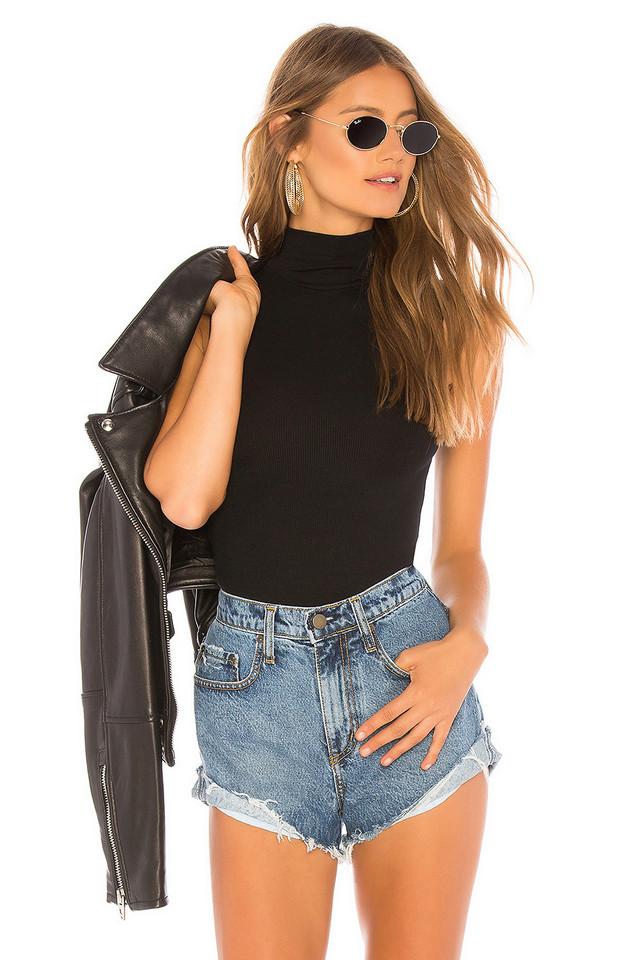 n:PHILANTHROPY Reese Bodysuit in black
