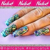 nail accessories,nail decals,nail polish,nail art,nail stickers,nail wraps,nail print,aztec,aztec nails,nail decal,nails,nail covers,nail cat,print,spike nails,hip hop,rapper,tupac,tropical nails,80s style,90s style,tropical,palm tree print,purple,yellow,green,blue,navajo,geometric,monochrome,black and white