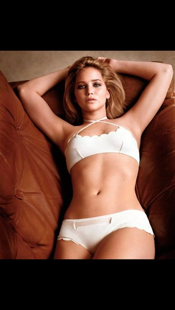 Underwear Matching Set Set Bra Jennifer Lawrence