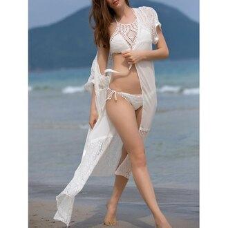 swimwear rose wholesale white crochet summer beach