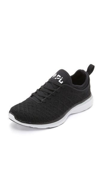 Apl: Athletic Propulsion Labs Techloom Phantom Sneakers - Black/Metallic Silver