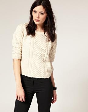 Pull en tricot irlandais chez asos