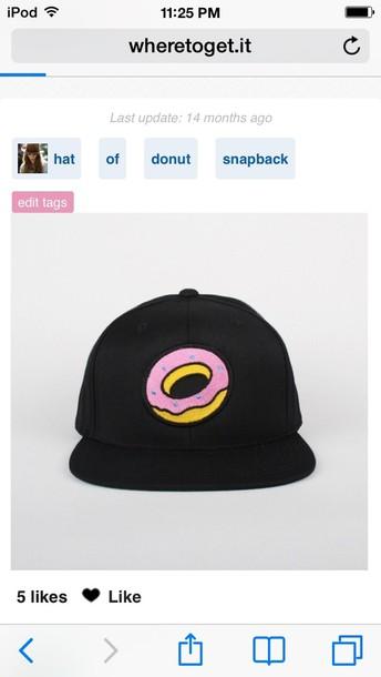 hat donut