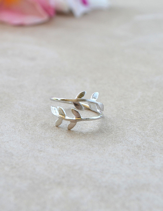 jewels leaf leaf ring ring silver silver rings
