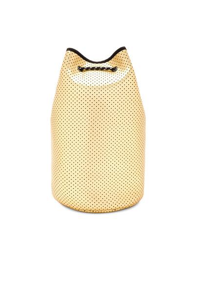 All Fenix bag bucket bag neoprene metallic gold