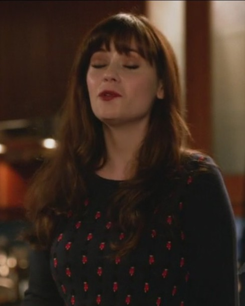 sweater jessica day new girl zooey deschanel