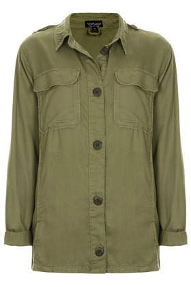 Shirt Jacket- Topshop