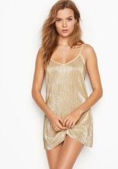 dress,josephine skriver,babydoll dress,pajamas,model,victoria's secret,victoria's secret model