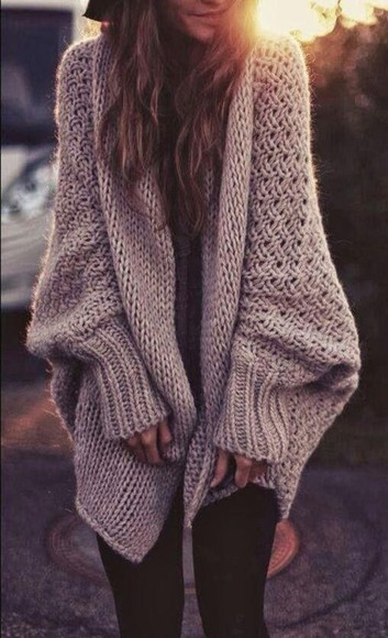 cardigan beige fall outfits knitted tumblr knitted cardigan want want want