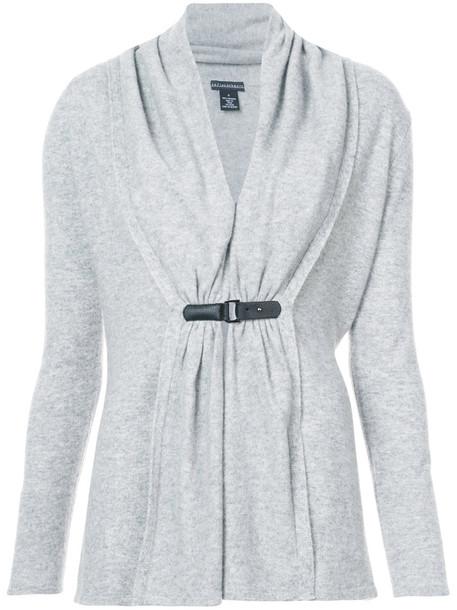 Sofia Cashmere cardigan cardigan women grey sweater