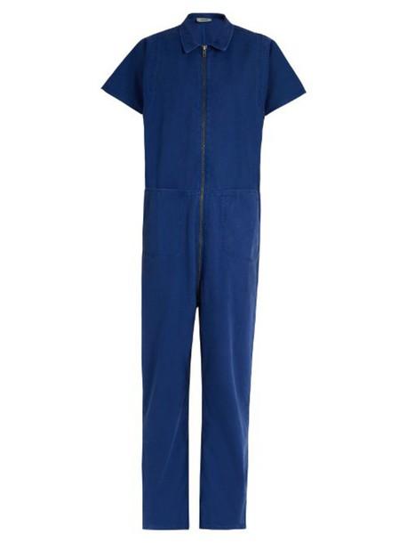 f2dd9cbde186 RACHEL COMEY Barrie zip-up denim jumpsuit in blue - Wheretoget
