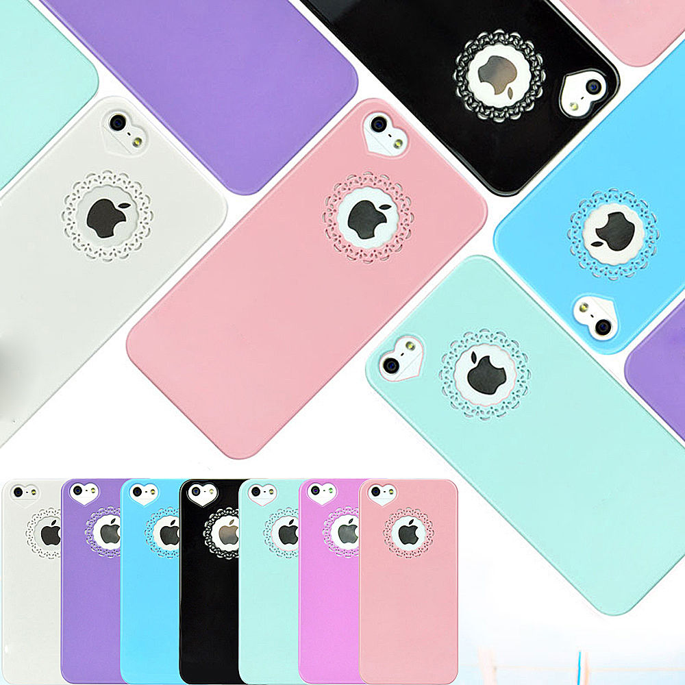 ULTRA THIN CUTE HEART LOVE HARD COVER CASE FOR iPHONE 4G 4S  SCREEN PROTECTOR | eBay