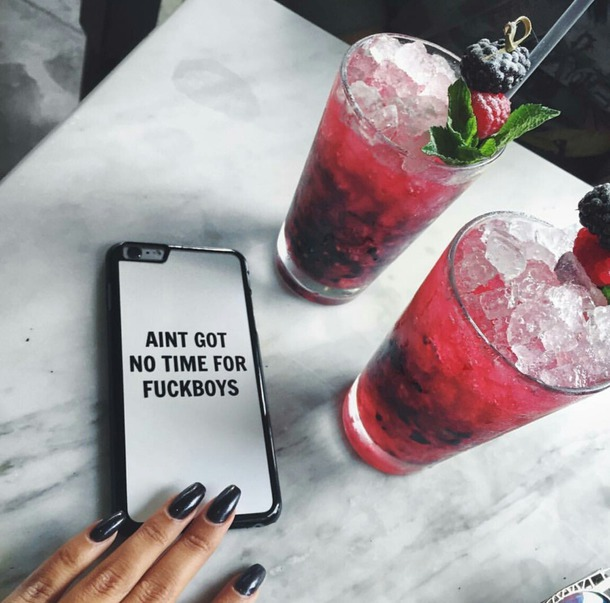 phone cover iphone quote on it phone cover phone marble drink white pink fruits
