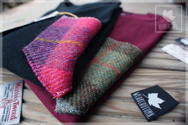 t-shirt weareautumn vintage hype floral twed tartan pocket t-shirt t-shirt t-shirt hipster