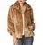 Teddy Bear Double Fur Coat - Umbrella Club LA