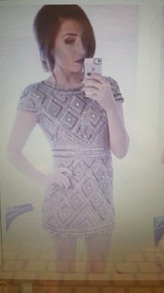 beaded homecoming dress tight dress