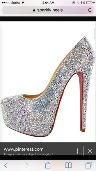 shoes heels sparkly