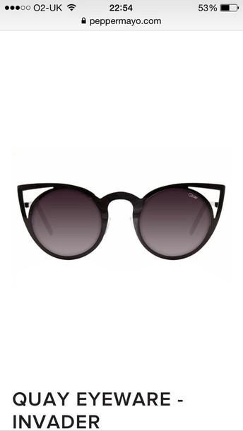 sunglasses black round lens sunglasses