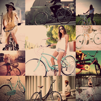jewels vintage retro summer wheels bike