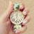 Antique Roses Stretchable Watch                           | Hello Miss Apple