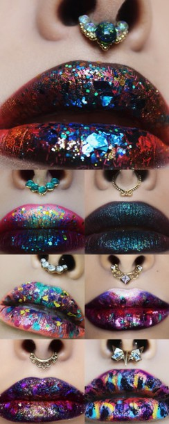 Make Up Jewels Face Jewelery Fake Septum Piercing Nose Ring