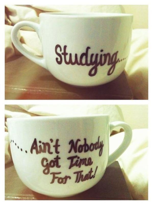 bag mug university studying