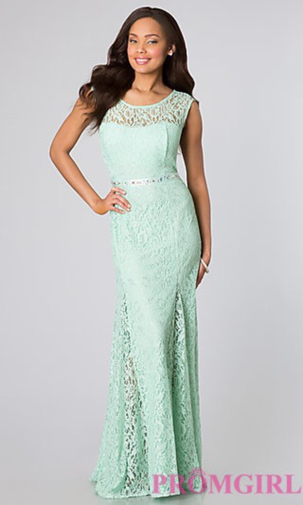 Long Lace Gown For Prom By Sequin Hearts