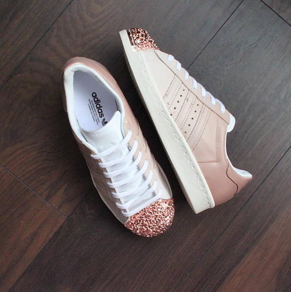 adidas superstar with bling