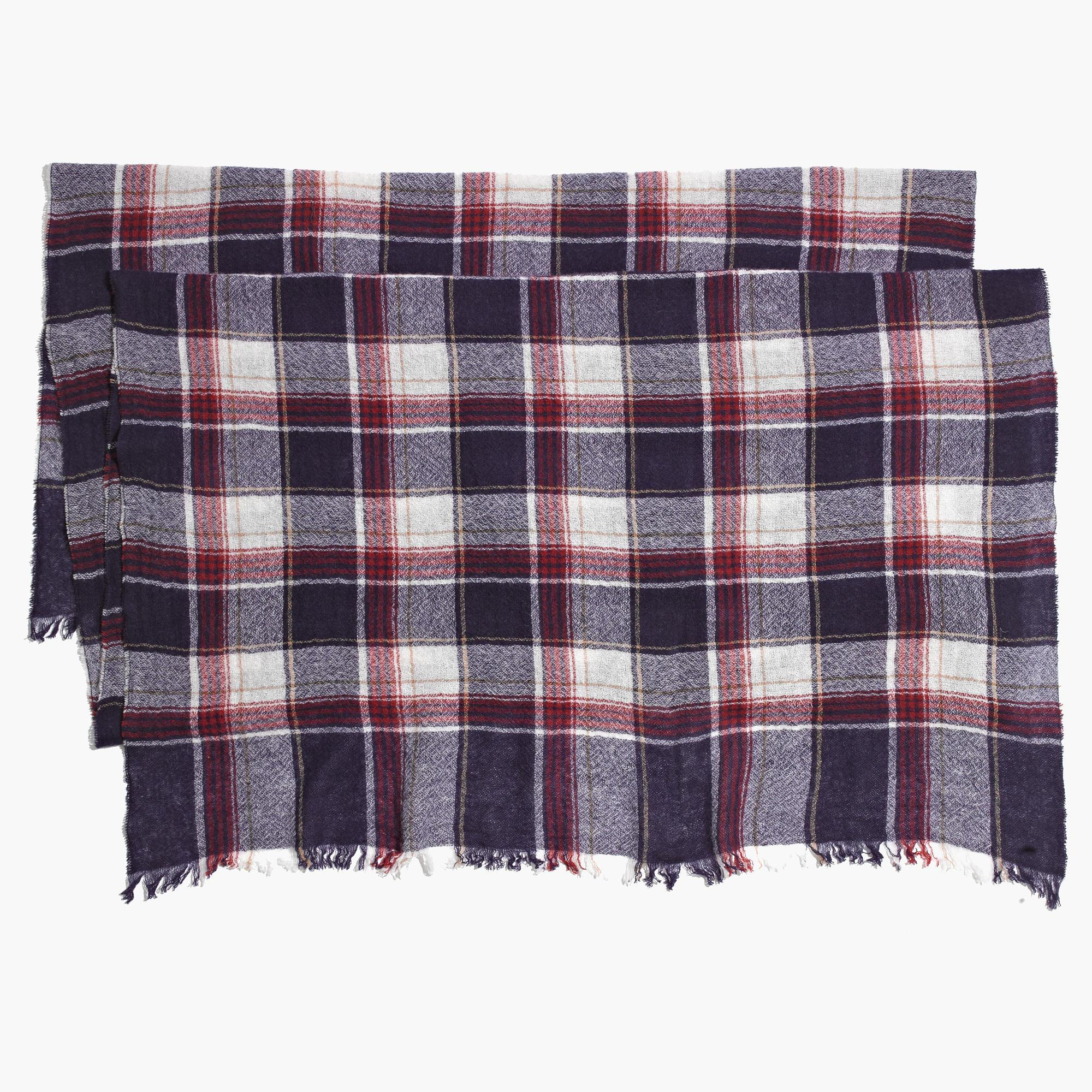 Rangeplaid scarf