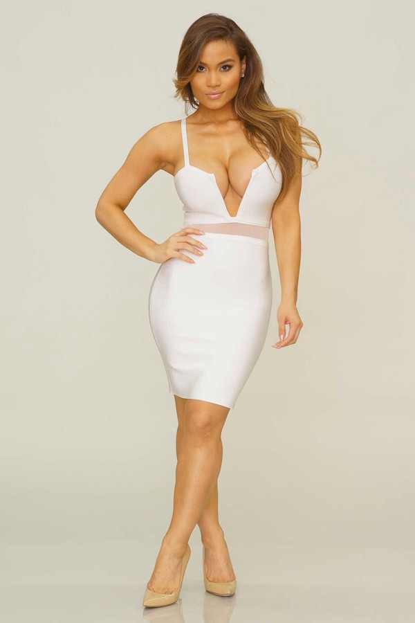 dress bandage dress bandage dress bodycon dress white dress
