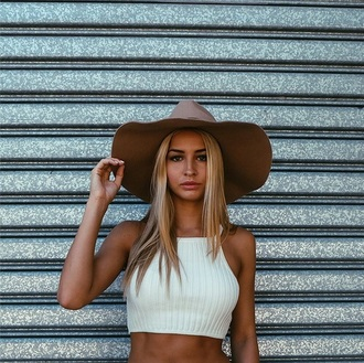 top crop tops white coachella firefly hippie shirt hat