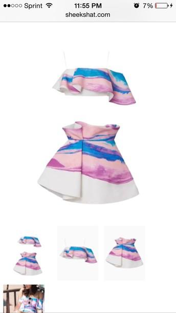 skirt peplum style