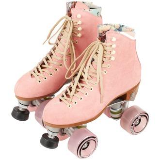 skids skateshoes skates vintage pink
