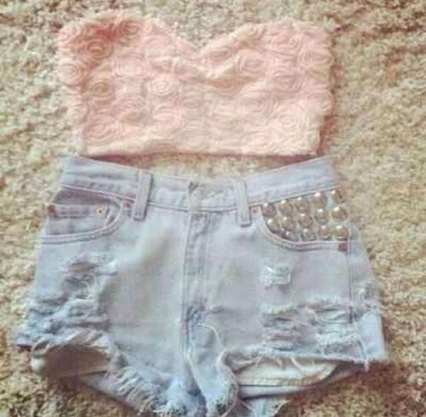 top short shorts