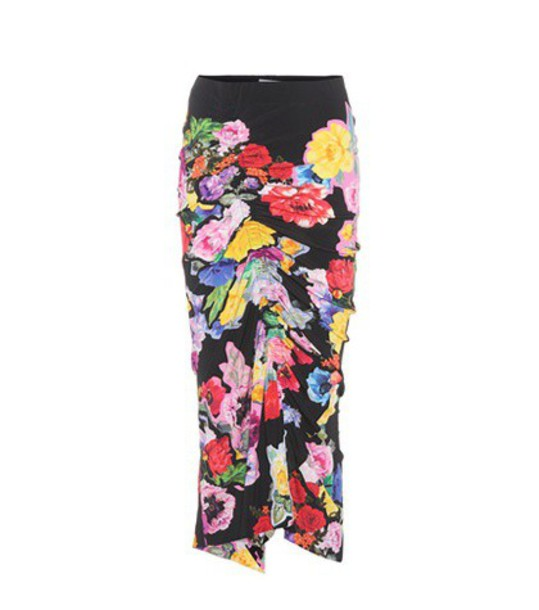 PREEN BY THORNTON BREGAZZI skirt printed skirt floral