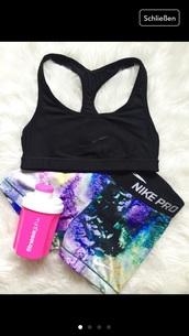 shorts,nike,pro,nike pro,galaxy print,sportswear,sports shorts