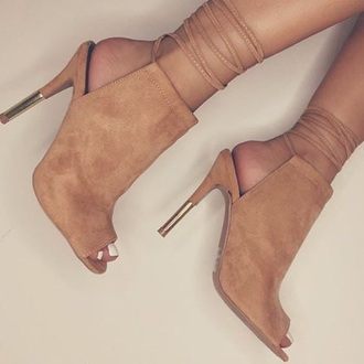 shoes cut out ankle boots ankle boots peep toe heels nude boots