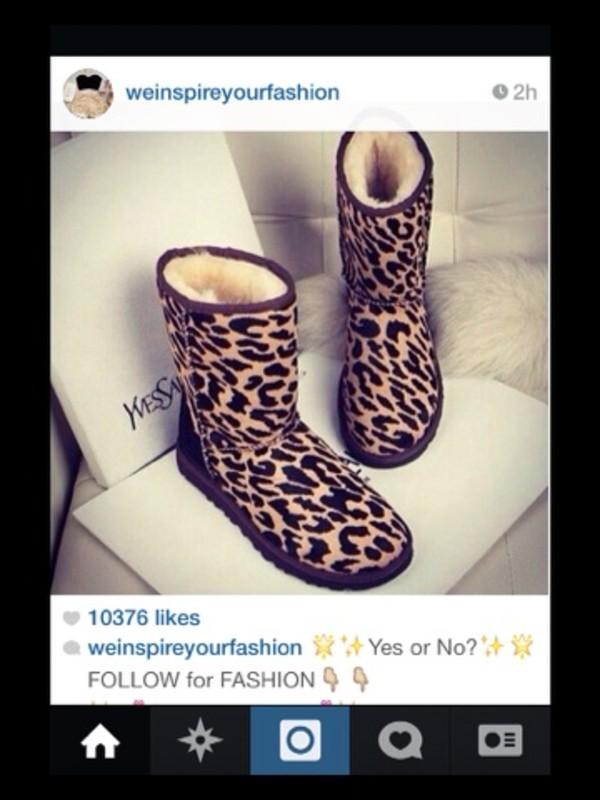 shoes boots leopard print leopard print