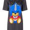 Moschino - transformer bear t-shirt dress - women - viscose/other fibers - 44, grey, viscose/other fibers