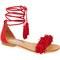Steve madden 'sweetyy' lace-up sandal (women) | nordstrom