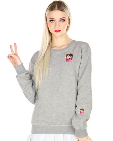Emoji chick sweater at shop jeen