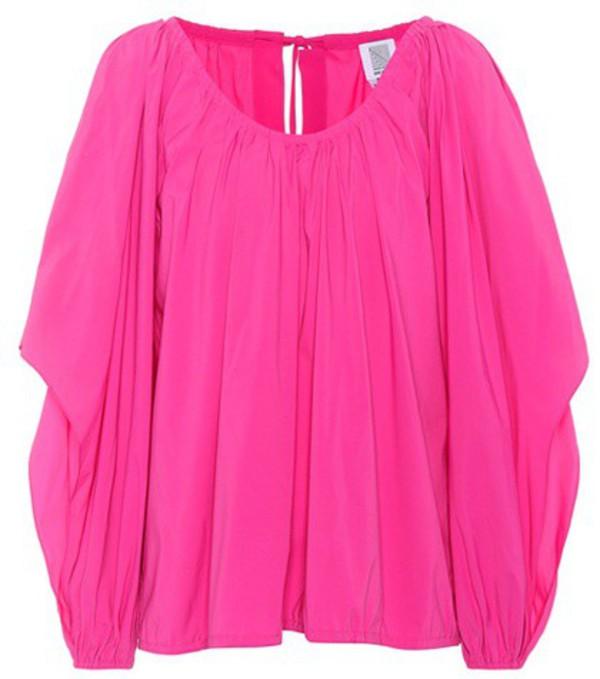 Rosie Assoulin Oversized top in pink