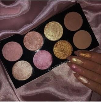 make-up highlight glitter makeup palette eye makeup