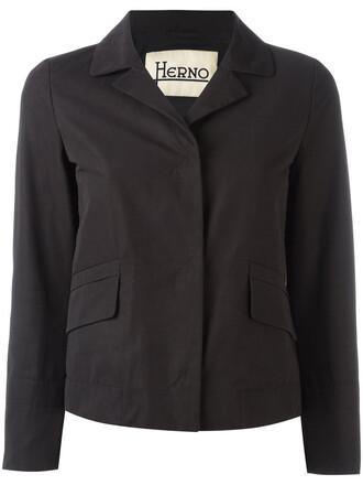 jacket women cotton black