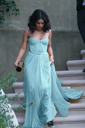 dress,blue,vanessa hudgens,maxi dress,shoes,bag,blue dress,prom dress,baby blue,long dress,strapless dress,prom,chiffon,celebrity,long prom dress,party,girl,flowy,turquoise,mint,black and gold clutch,gold bangles,homecoming,sequins,one shoulder dress,aqua,pastel,pastel blue dress,hot,sexy,cute dress,formal,long,strapless,gown,mint dress,vannessa hudgens,ball gown dress