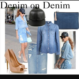 top denim summer spring cute trendy rihanna denim jacket