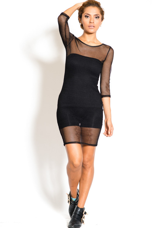 Mesh see thru dress insert is not included