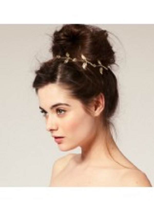 hair accessory hair headband gold leaves hair accessory festival festival chic festival bracelet festival jewelry festival