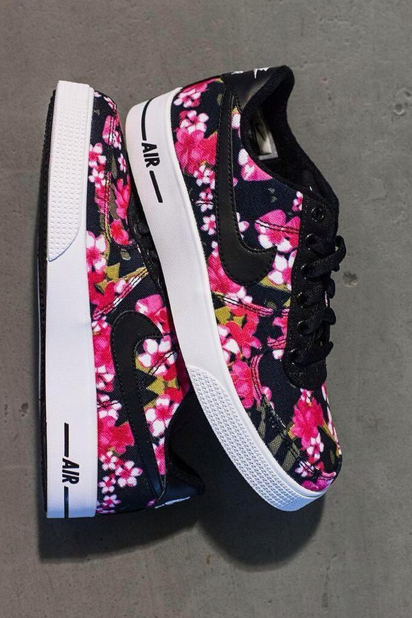 Shoes Nike Air Blouse Nike Nike Air Force 1 Floral